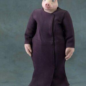 """Кукла свинья из фильма """"Mr.Deer"""""""
