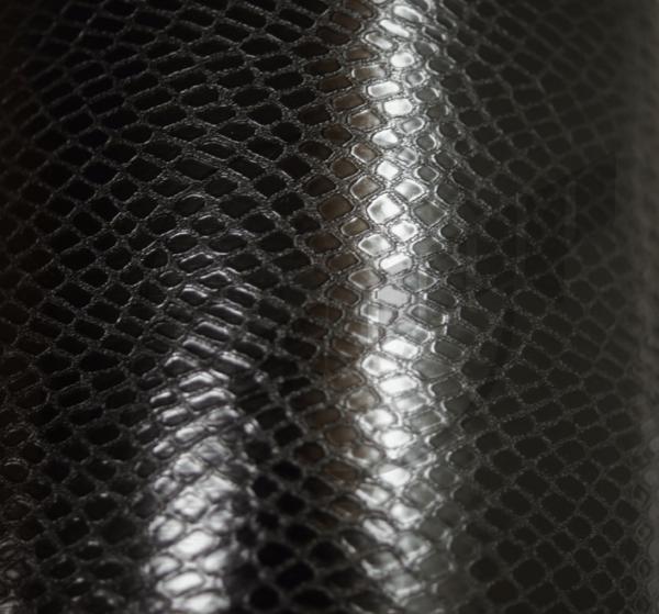 виниловая пленка кожа змеи черная