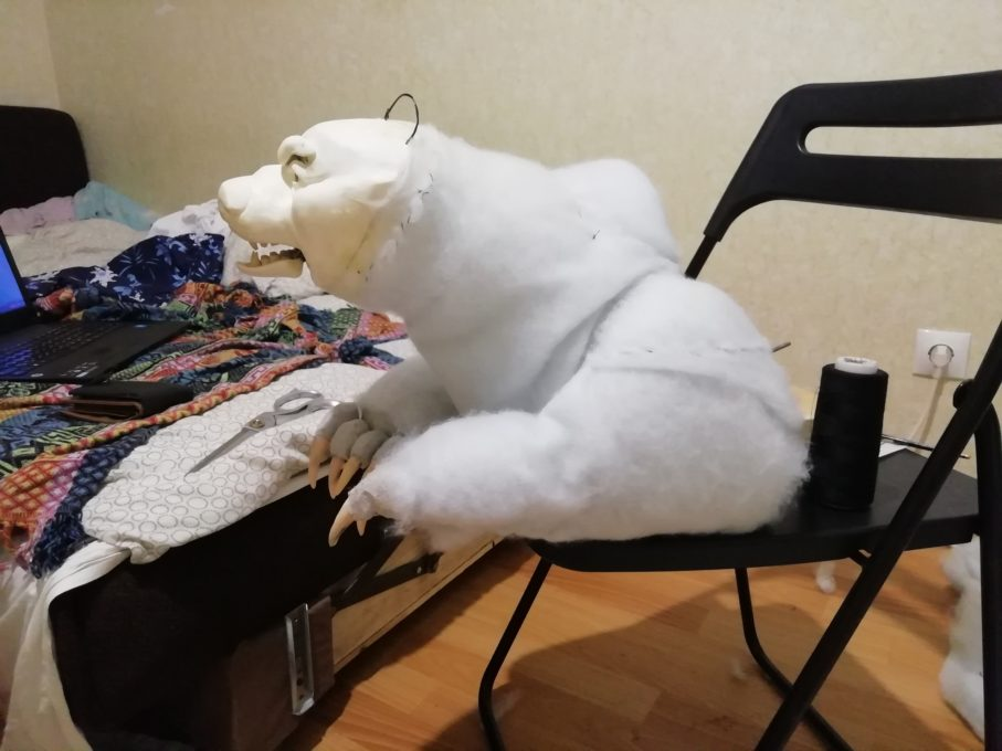 медведь саглана