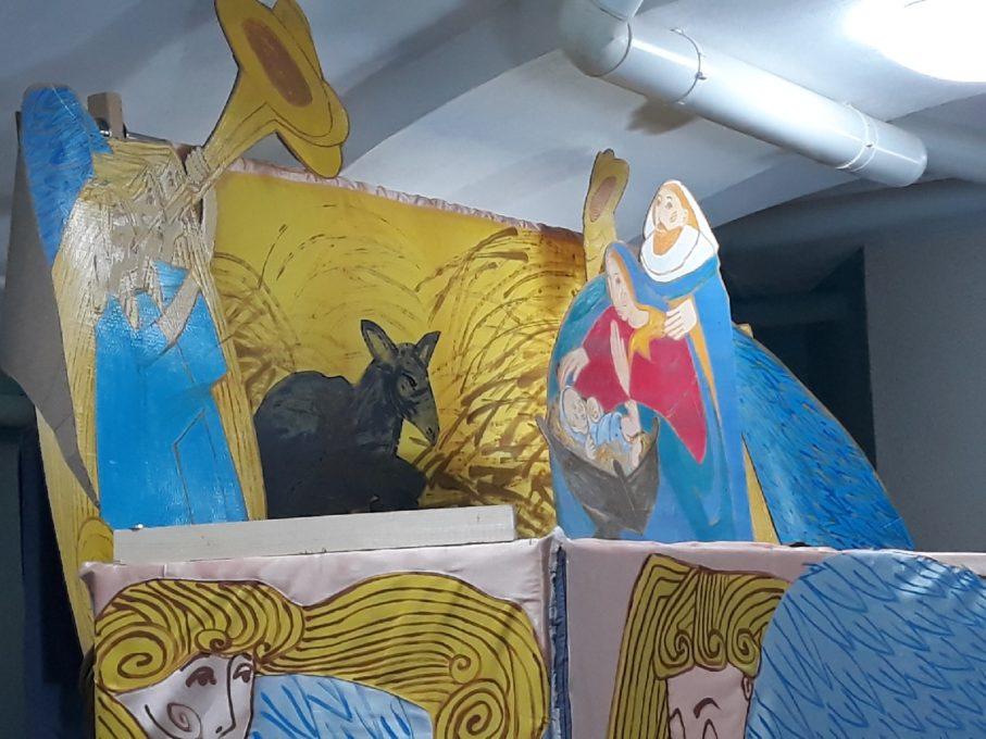 Забава Королёва - художник театра при протестантской церкви Новый завет, Санкт-Петербург