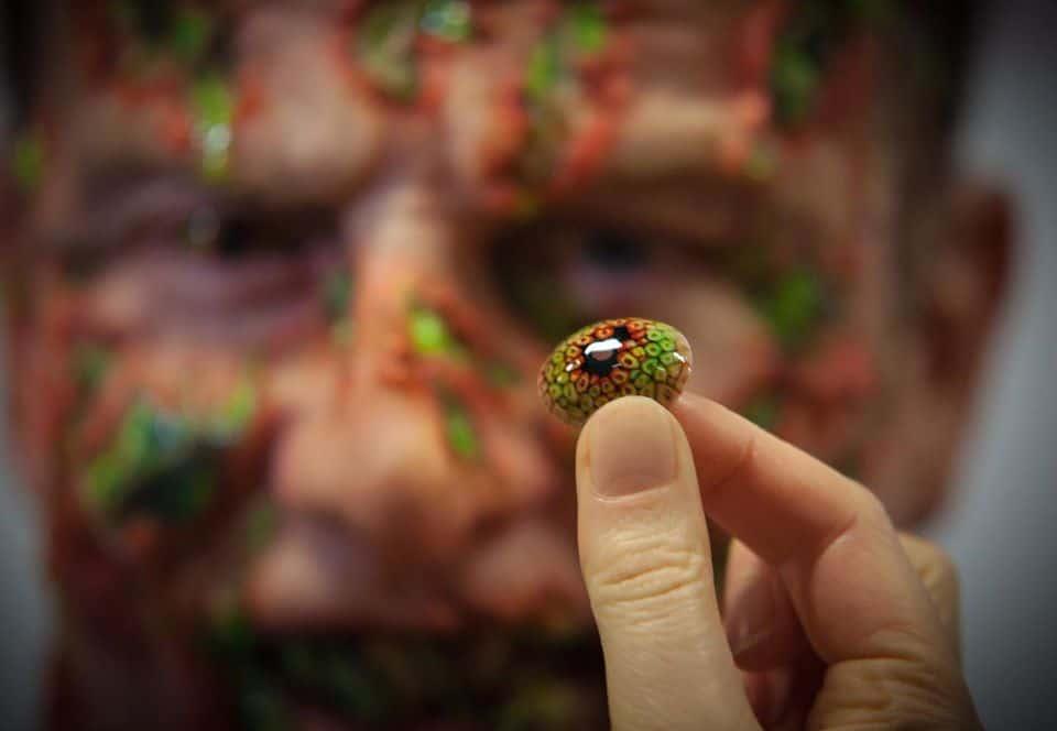 Как создают контактные линзы для съёмок кино