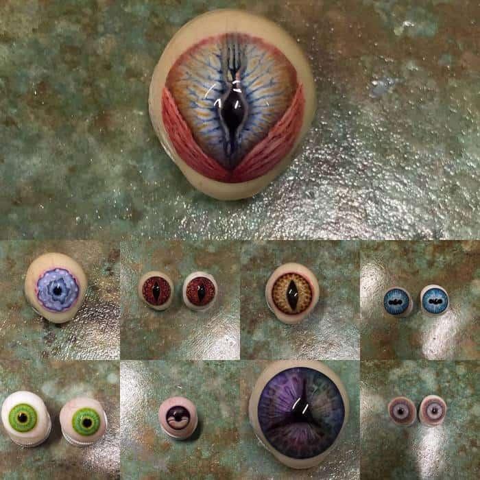 контактные линзы для съёмок кино