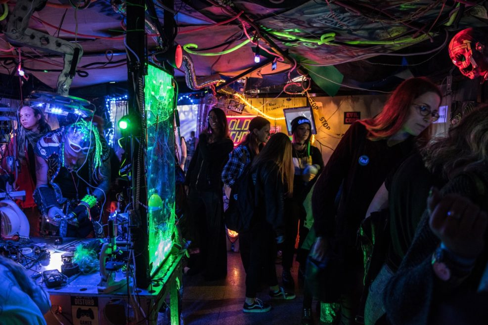 Cybershop by Taskas at Comic Con Baltics 2019