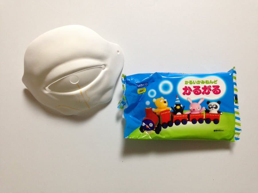 японская масса для лепки - бумажная глина