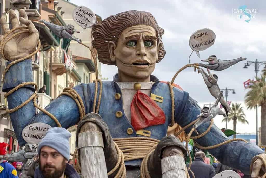 Маттео Рачити: Карнавал в Виареджио