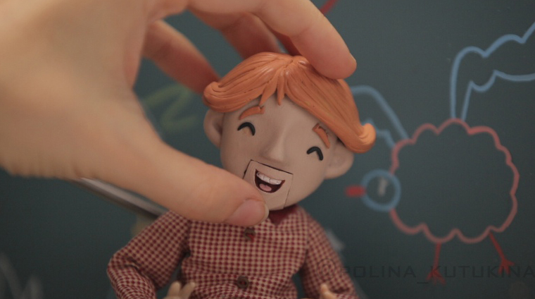 стоп-моушен анимация - Полина Кутукина