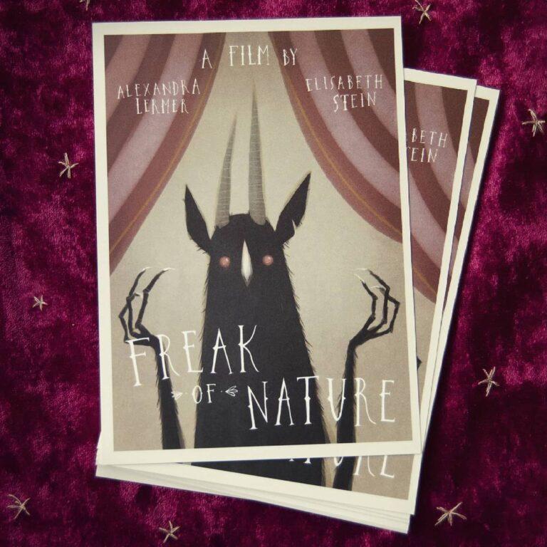 """Freak of Nature"" film: Interview with stop-motion artist Alexandra Lermer"